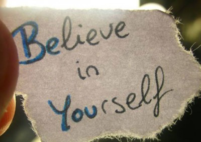 be you believe in yourself