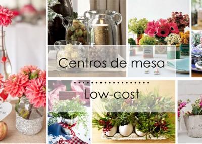 centros de mesa low cost