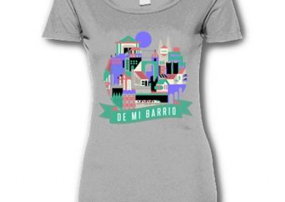 serlibre ganadora camiseta chica