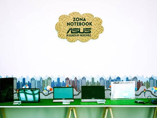 Asus zona notebook