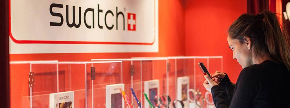 Swatch Microteatro en 4 tiempos