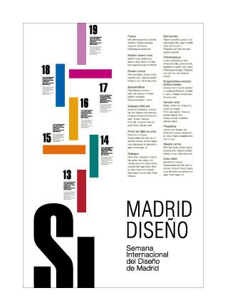 Semana Internacional del Diseno de Madrid