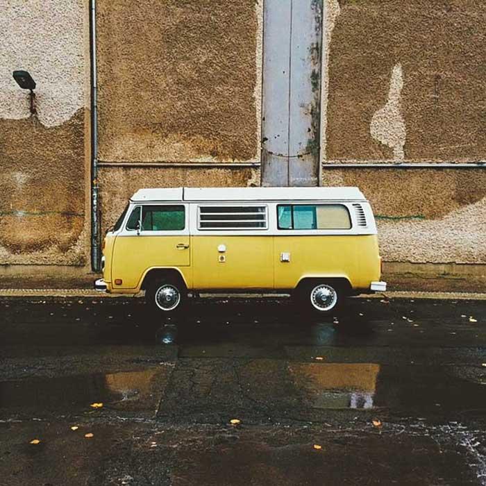 Volkswagen van viaje 2016