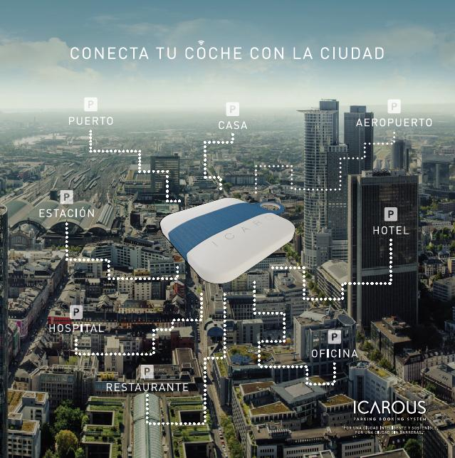 icarous parking booking conecta ciudad