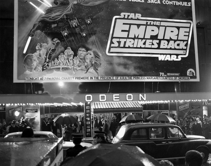 Star Wars UK 1980 The Empire Strikes Back film