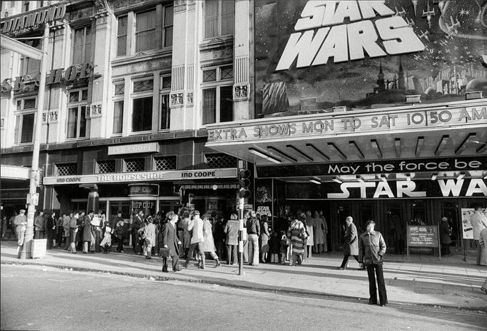 Star Wars UK 1977 release