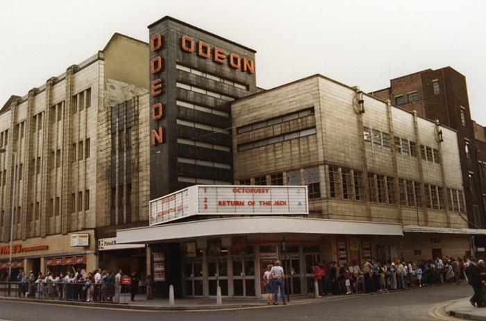 Star Wars UK 1983 The Odeon