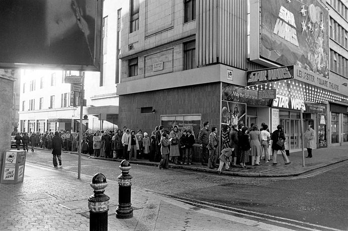 Star Wars film UK 1977