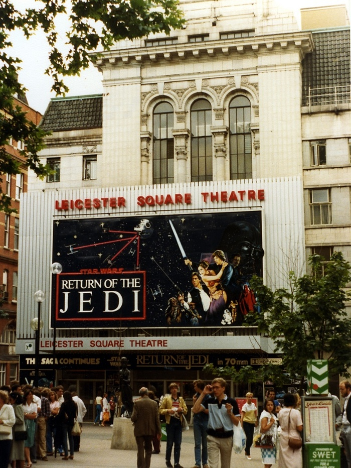 Star Wars film UK 1983 Return of the Jedi