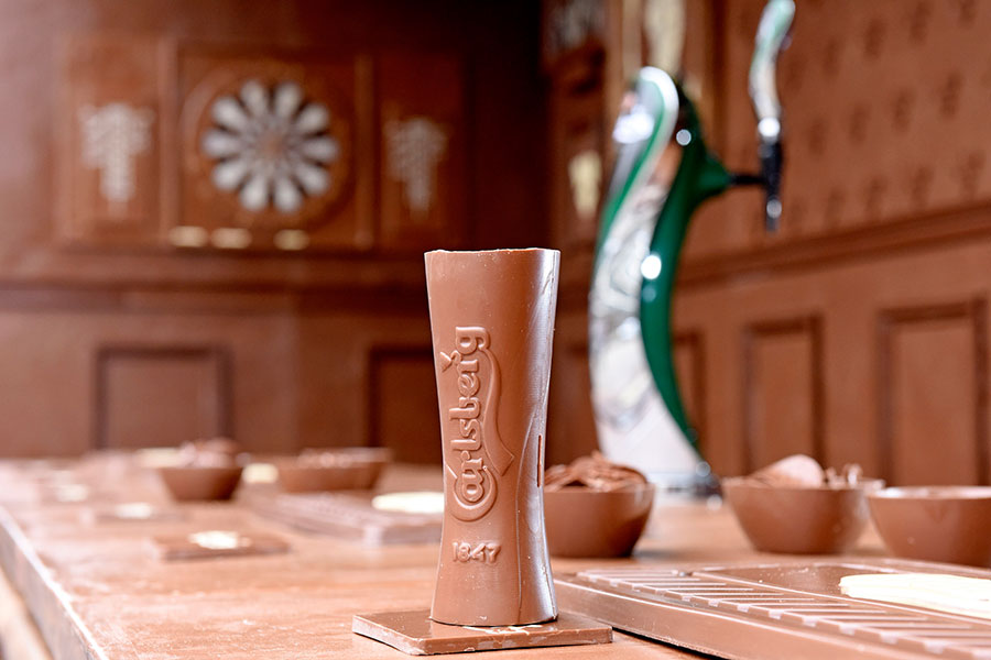 If Carlsberg did chocolate bars