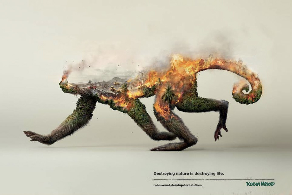 Robin Wood y la destrucción de la naturaleza
