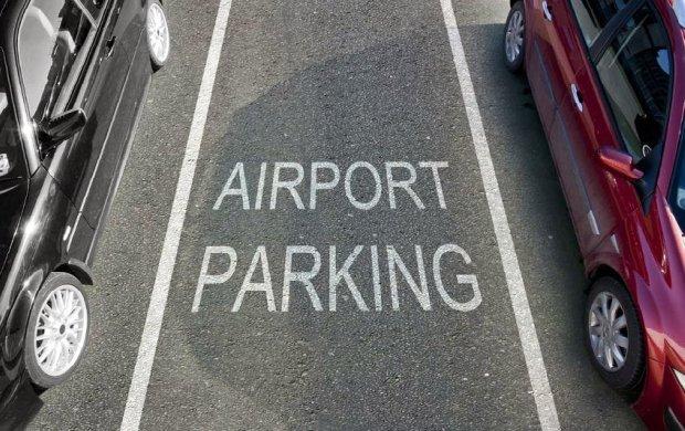 red parking aeropuerto