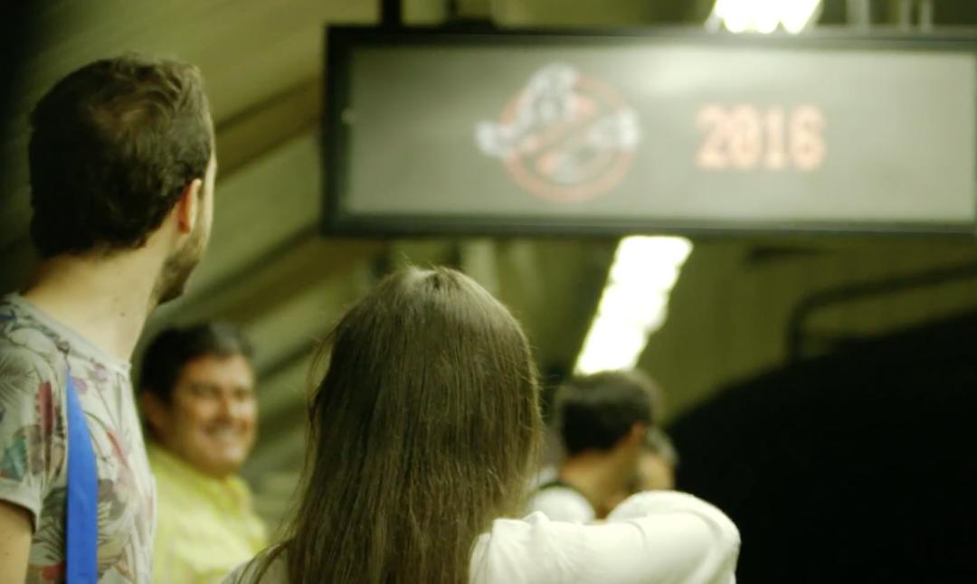 cazafantasmas metro madrid 2016
