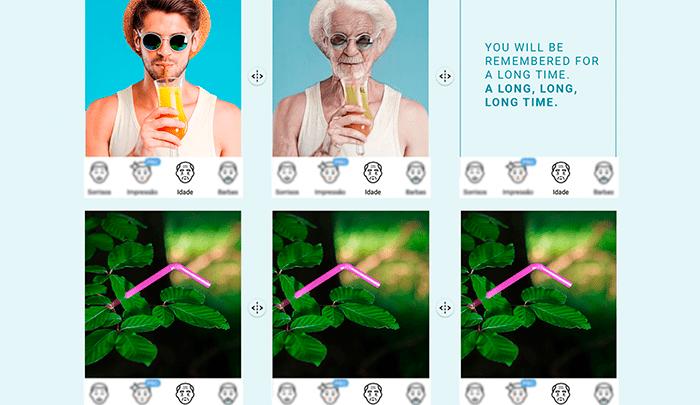 Potigás usa FaceApp para concienciar sobre los plásticos