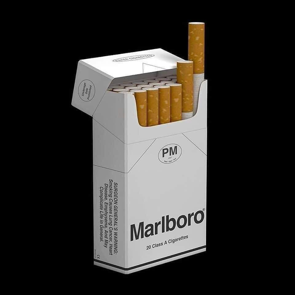 brutalismo marlboro packaging